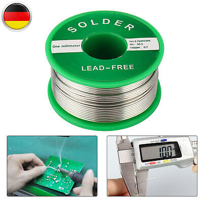 l tzinn fett l tdraht sn99cu1 1mm 100g mit flussmittel lot wire elektroniklot ebay. Black Bedroom Furniture Sets. Home Design Ideas