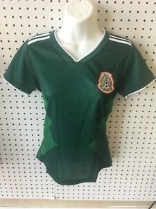 fdcf5b45b43 Image is loading 2018-Mexico-home-Woman-Soccer-Jersey-Size-Small-