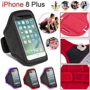 outlet store d5729 d2252 Details about Apple iPhone 8 Plus Gym Running Jogging Armband Sports  Exercise Holder Strap UK