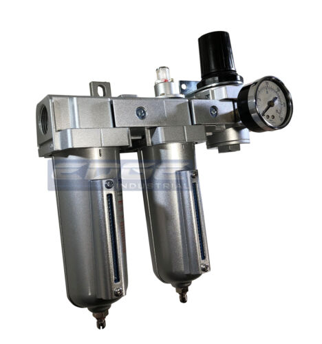 """3 Stage Air Drying System Coalescing Filter Regulator 3//4/"""" NPT Particulate"""