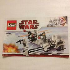 LEGO STAR WARS NOTICE DE MONTAGE  (8084)