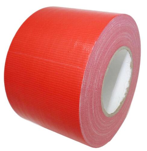 Industrial Duct Tape Waterproof UV Resistant Red 4 in X 60 Yd. T.R.U