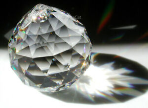 30mm-Bohemian-Crystal-Clear-Ball-Sphere-Prism-SunCatcher-Feng-Shui-1-3-8-034