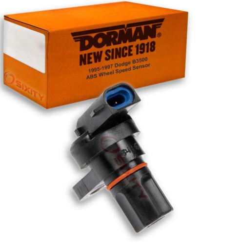 Dorman Rear Center ABS Speed Sensor for Dodge B3500 1995-1997 Anti lock sh
