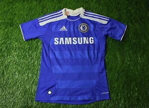 CHELSEA-LONDON-2011-2012-FOOTBALL-SHIRT-JERSEY-HOME-ADIDAS-ORIGINAL-SIZE-YOUNG-L