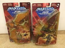 He Man Masters Of The Universe 2002 200x Flight Pack Lot Of 2! NEW! Shelf Wear!