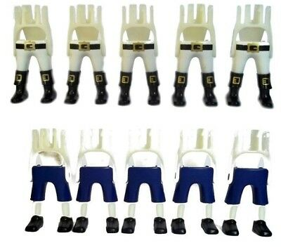 Playmobil pair of legs with boots -- replacement part s3