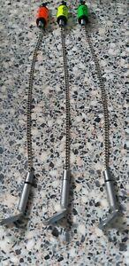 Solar-Tackle-Fluoro-Bobbin-Heads-Indicators-X3-with-hockey-sticks-amp-chains