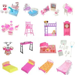 Miniatures-Doll-House-Furniture-Accessory-Pretend-Play-Set-for-Barbie-Kelly-Doll