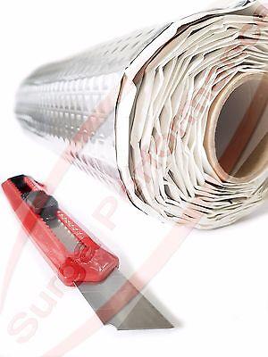 2m² Alubutyl 50cm x 4m Sounddämmung KFZ-Dämmung Bitumen-Ersatz Bitume