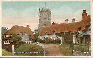 PC25955 Godshill Village and Church. I. O. W. No H.109. 1944