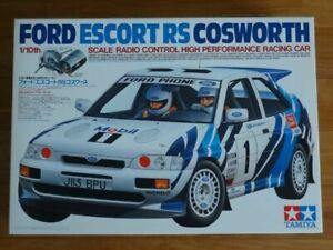 Tamiya 1 10 Rc Ford Escort Rs Cosworth 4wd Rally Car Model Kit 58112 From Japan Ebay