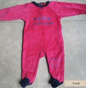 3a970e27b47ef Pyjama Dors Bien 9 Mois Fille | eBay