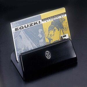 El-Casco-Desk-Card-Holder-M-670CN-Shiny-chrome-and-black