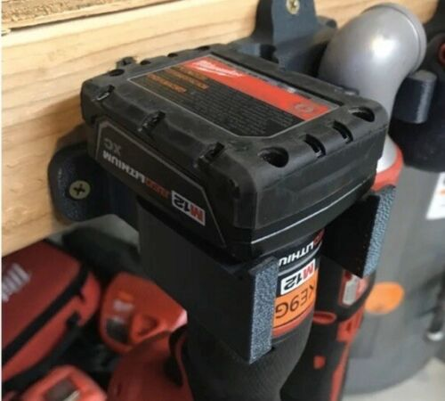 Milwuakee Tool Battery Holder M12 xc4.0