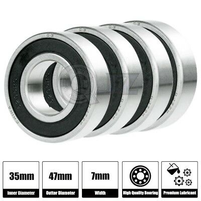 6807-2RS 10x Ball Bearing 35mm x 47mm x 7mm Rubber Seal Premium RS  Shielded