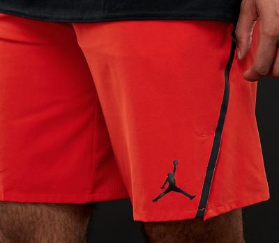 Nike Jordan Men/'s Ultimate Flight Training Shorts 861498-812 Gym//Red Size-L New