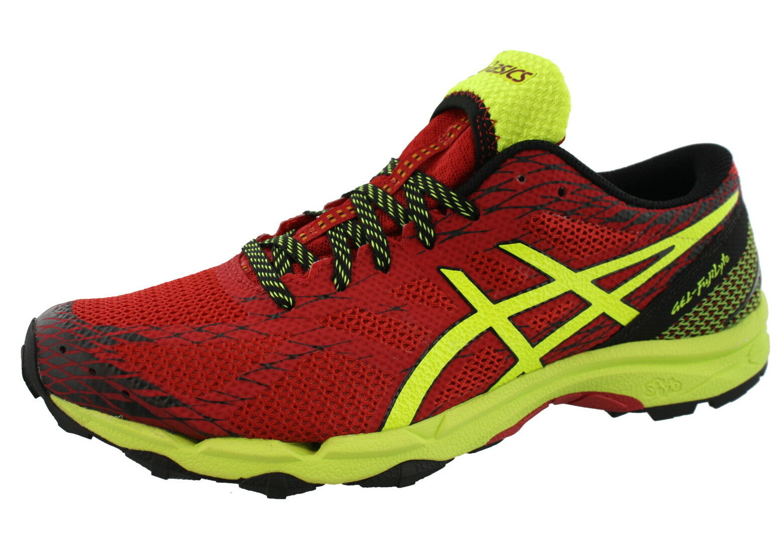 7601ad66ed97 ASICS Mens GEL Fuji Lyte Trail Running Shoes 9 D(m) US Racing Red ...
