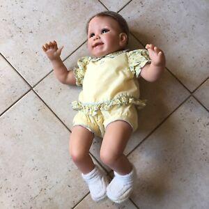 Bébé Reborn Fille Linda Murray Baby Girl Doll Réaliste Interactive