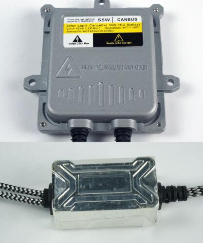 9005//HB3 10000K Blue 55W Can-bus Ballast Xenon HID Daytime//High Beam Headlight