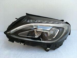 Mercedes-C-Klasse-W205-Frontscheinwerfer-Scheinwerfer-links-Voll-LED-Original