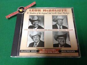 Leon-McAuliffe-Love-From-The-Longhorn-Ballroom-Dallas-Texas-CD-Piranha-Records