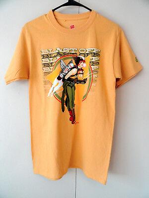 NEW S Yellow HAWK GIRL  Blast OFF  Bombshell T-Shirt DC Comics Good Girl Pin Up