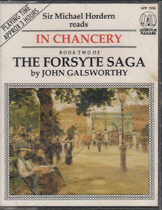 John-Galsworthy-Forsyte-Saga-Book-2-In-Chancery-Cassette-Audio-Book-Abridged