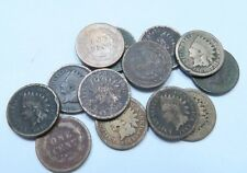 (1) 1859-1864 (C/N) Indian Head Penny // Copper/Nickel *W/ DATE!* - LG // 1 Coin