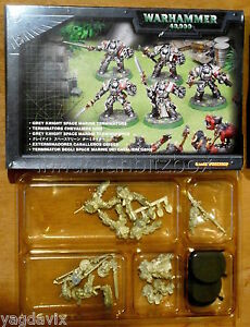 DCO91-GREY-KNIGHT-METAL-WARHAMMER-40000-W40K-NIB