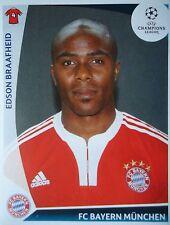Panini 10 Edson Braafheid Bayern München UEFA CL 2009/10
