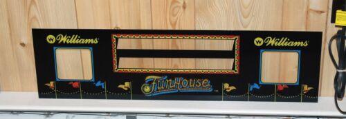 WILLIAMS FUNHOUSE Pinball Machine Speaker Panel DMD BRAND NEW
