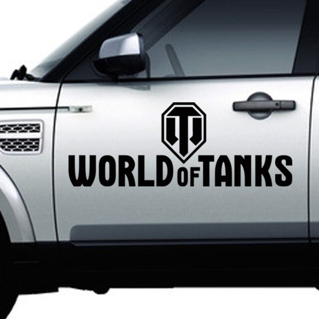 Vinyl Wall Stickers Black Car Stickers World of Tanks