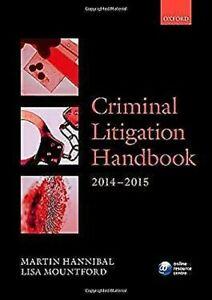 Criminal-Litigation-Handbook-2014-2015-by-Hannibal-Martin-Mountford-Lisa