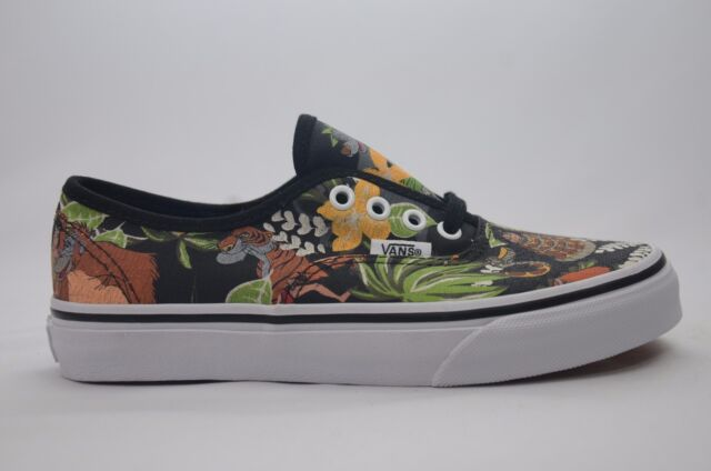 4677a7b2ac Disney Jungle Book Vans Youth Size 2-3 New in Box 4000143142 Black
