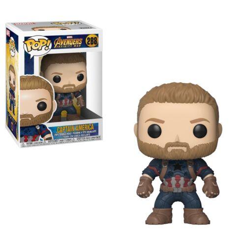 Avengers Infinity War-CAPITAN AMERICA figura da collezione Funko Pop Marvel