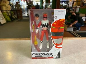 "Hasbro Power Rangers Lightning Collection LOST GALAXY RED 6"" Inch Figure NIP"