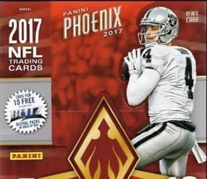 2017-Panini-Phoenix-Orange-Parallel-Football-Cards-Pick-From-List-99