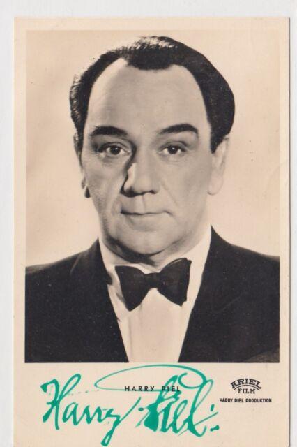 Harry Piel+ - original signierte KuB Autogrammkarte A 525