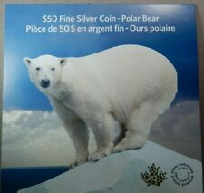 Canada 2014 Grizzly Bear Solitary Titan $100 Pure Silver Matte Proof