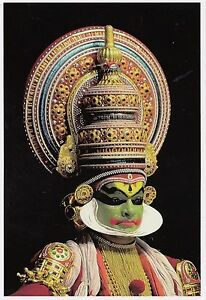 Details about (32065) Postcard India Kerala Kathakali Dance un-posted