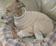 4-LEG ANY SOLID COLOR PJ CUFFED SWEATER COAT WHIPPET TERRIER GERMAN PINSCHER