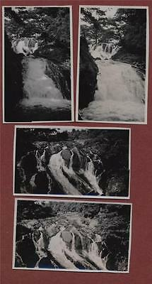 Forest waterfall, Swallow Falls, Lake District, Cumbria vintage photographs  f99
