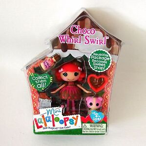 Choco-Whirl-Swirl-Mini-Lalaloopsy-Doll-New-Series-8-Shoppes-Retired-MGA-Toy-Bear
