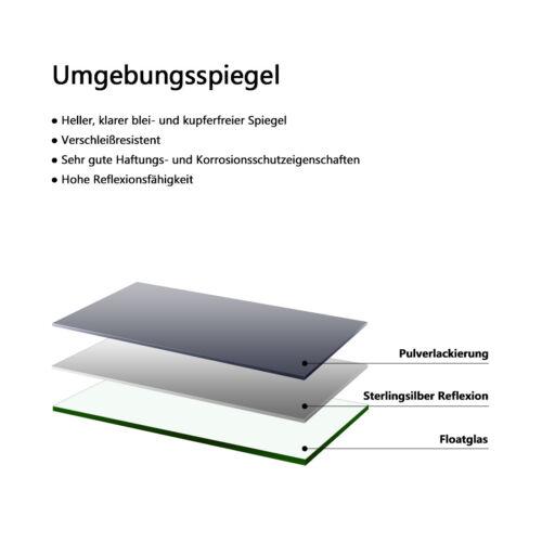 80x60 cm LED Badspiegel mit Touch Beschlagfrei Wandspiegel Dimmbar Helligkeit