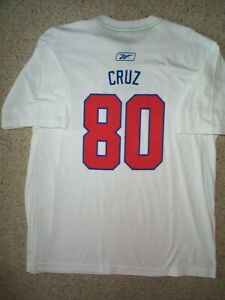 buy popular d4ed4 add52 Details about REEBOK New York NY Giants VICTOR CRUZ nfl Jersey Shirt Adult  MENS/MEN'S (xl)