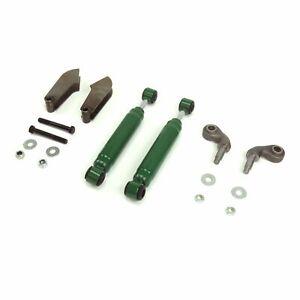 Universal Solid Axle Chrome Shock Kit with Mounts VPASHKUAB vintage parts usa