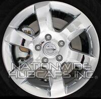Fits 07-09 Nissan Altima Chrome 16 Alloy Wheel Rim Skins Hub Caps Full Covers