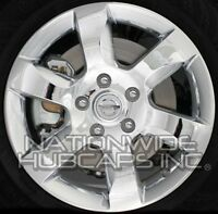 Fits 07-09 Nissan Altima Chrome 16 Alloy Wheel Rim Skins Hub Caps Full Covers
