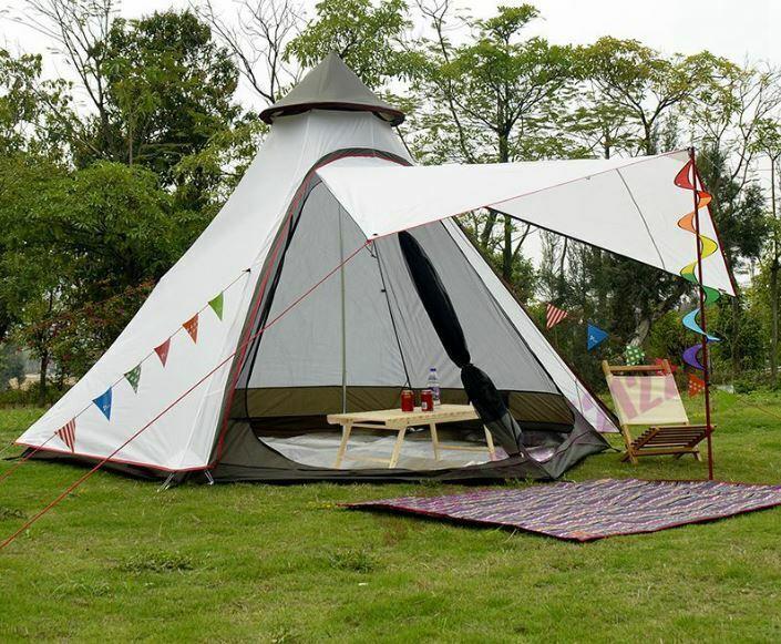 Impermeable Cámping Patio Toldo  Dosel indio Jugara Cochepa Gazebo Glamping yurta Nuevo  echa un vistazo a los más baratos